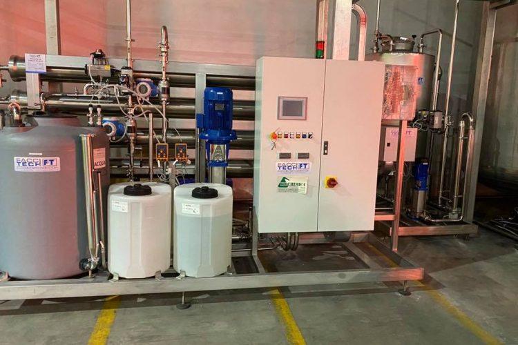 Osmosi inversa da 10000 litri ora